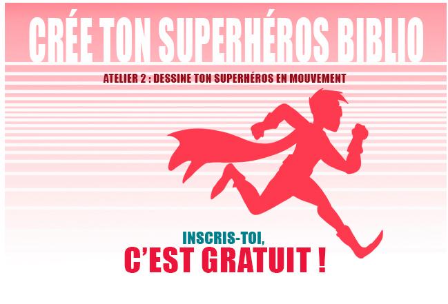Crée ton superhéros biblio